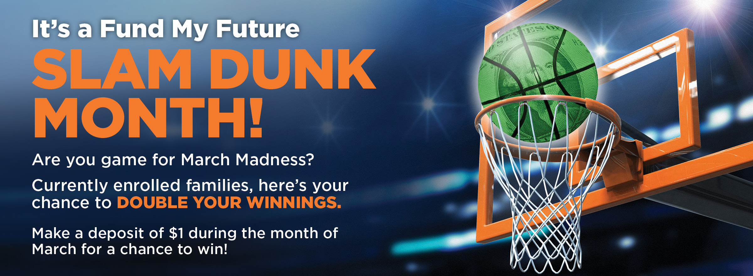 FMF march madness web banner – Fund My Future
